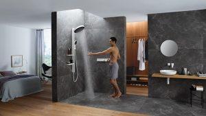 Abschalten mit idealer Dusche